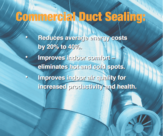 Commercial HVAC Air Duct Sealing in Colorado